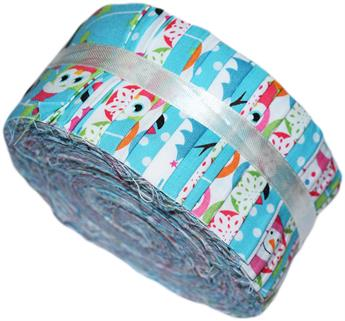 CHRISTMAS CHARACTERS- LARGE JELLY ROLL