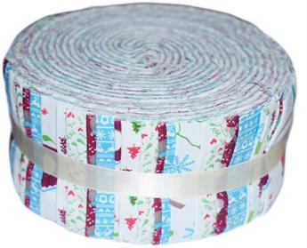 FESTIVE FRIENDS- LARGE JELLY ROLL