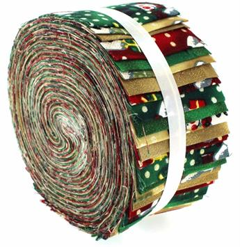 VINTAGE SNOWMAN LARG JELLY ROLL