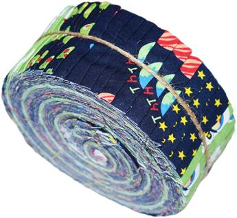 SPACE SWISS ROLL - LARGE JELLY ROLL