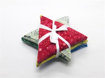 Batik Christmas Star Fat Quarters