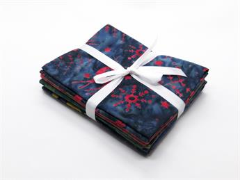 Batik Christmas Fat Quarters